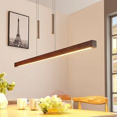 Lighting Concepts, Wooden Ceilings, Led Lampe, Japanese House, Love And Light, Kitchen Lighting, Floating Shelves, Ceiling Lights, Fiat