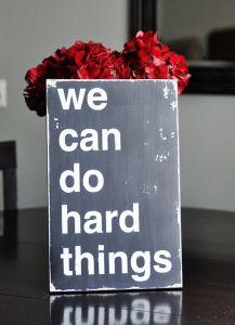many, many hard things
