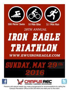 EWU   Iron Eagle Triathlon