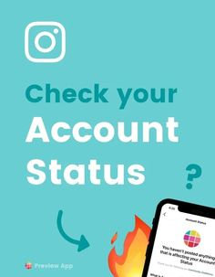 """Are you worried Instagram shadowbanned, blocked or flagged your account? Instagram has a new feature that allows you to check your """"Account Status"""". You can see if you have violated any Instagram Community Guidelines. Find out all the info here! #instagramtips #instagramstrategy #instagrammarketing #socialmedia #socialmediatips"""