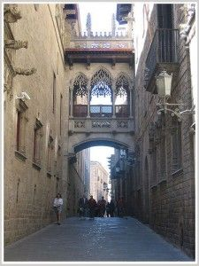 Barrio Gotico - Barcelona, Spain