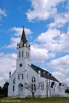 The Painted Church - Ammonsville St. John The Baptist Church by derekposey, via Flickr