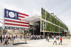 USA+Pavilion++–+Milan+Expo+2015+/+Biber+Architects