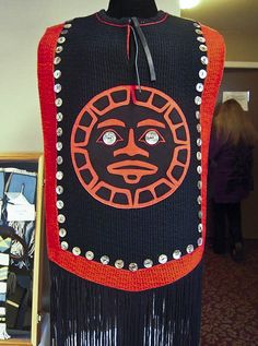 Parker, Kay - Red and Black Button Blanket  by Rasmuson Foundation, via Flickr