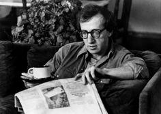 Famous People Drinking Tea - Woody Allen