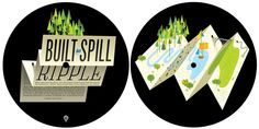 Built to Spill picture disc by Jesse LeDoux