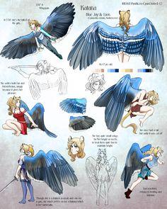 SB: Pose Sheet - Kat by Blue-Hearts