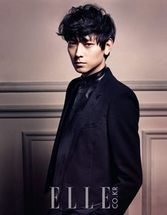 Kang Dong Won by Takay for Elle Korea, May 2013
