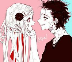 #bloody #anime #creepy Isn't that Suzuya?