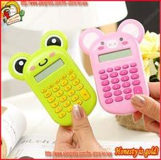 cute calculators, it' will be my dream to have this for school, it's adorable