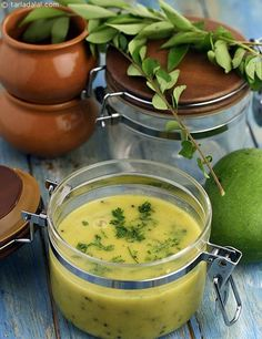 Kairi Chi Kadhi recipe   by Tarla Dalal   Tarladalal.com   #40248