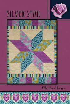 Silver Star quilt pattern by Pat Fryer, Villa Rosa Designs