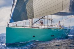 The new Brenta 80 DC sailing yacht