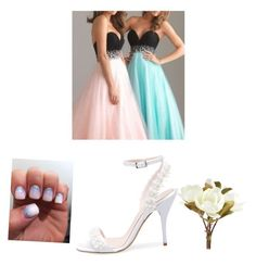 """""""wedding part 2"""" by daisydurnell on Polyvore featuring Oscar de la Renta and Pier 1 Imports"""