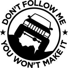 9 best audi graphics ideas images audi quattro audi a4 audi cars 2016 Audi Station Wagon don t follow me jeep decal outdoor vinyl by creativevinylgfx jeep decals mopar