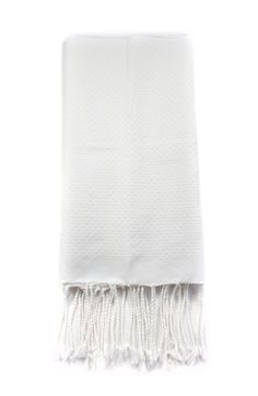 Scents & Feel White Fouta Guest Towel via Establishment Home