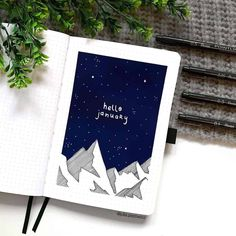 Full of wonder beautiful Bullet Journal theme ideas for cold winter months. Plus fun page ideas you can include in your setup. Lots of inspirations - cover pages, monthly logs, weekly spreads, and more. Pick a fun and creative theme to start your month. #mashaplans #bulletjournal #winterbujo #bujo #bujoinspo January Bullet Journal, Bullet Journal Monthly Spread, Bullet Journal Cover Ideas, Bullet Journal Notebook, Bullet Journal Layout, Journal Covers, Bullet Journal Inspiration, Book Journal, Art Journals
