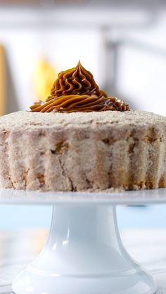 Quem resiste a um bolo de churros? O Pão de Açúcar nos inspirou a fazer essa deliciosa receita que é uma ótima pedida para a sobremesa de Páscoa!