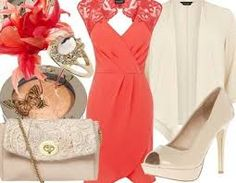wedding guest outfit with hat - Google Search