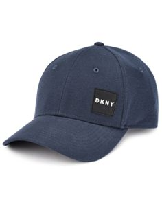 Dkny Men s Stackable Baseball Cap - Blue Dkny Mens 9dc10239649b