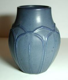 Vase , circa 1900   glazed stoneware    Hampshire Pottery    (active 1871 - 1945)
