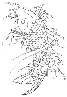 Sashiko Embroidery, Learn Embroidery, Japanese Embroidery, Embroidery Art, Koi Tattoo Design, Clock Tattoo Design, Dragon Tattoo Meaning, Dragon Tattoo Designs, Whittling Patterns