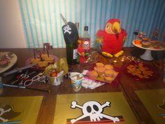 hmmm, alle piraten hebben honger.... zoete tafel