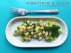 Avocado salat http://subiektywniewkuchni.blogspot.com/2016/05/zielona-saatka-z-awokado.html