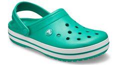 Crocs Crocband, Crocs Shoes, White Melon, Blue And White, Bold Fashion, Mens Fashion, Crocs Classic, Laura Biagiotti, Sporty Look