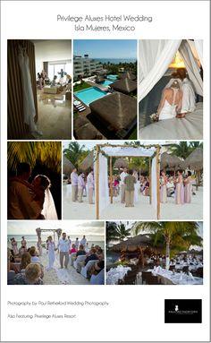 Isla Mujeres Destination Wedding location | Privilege Aluxes Hotel Mexico