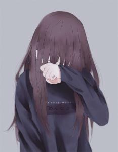 My 2016 - 2017 art style by AoiOgataArtist on DeviantArt Anime Girl Crying, Cool Anime Girl, Kawaii Anime Girl, Anime Art Girl, Anime Love, Anime Neko, Chica Anime Manga, Otaku Anime, Anime Amor