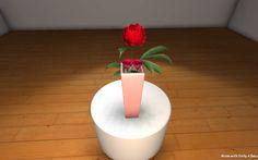 Kompozycja florystyczna 3D
