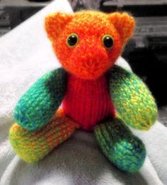 How to Loom Knit a Teddy Bear 36 pegs