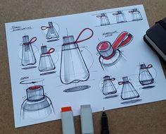Design Sketches & Illustrations 2018 (Part 1) on Behance