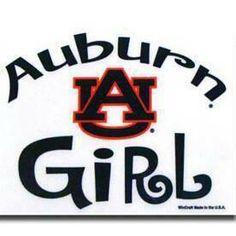 Auburn Girl