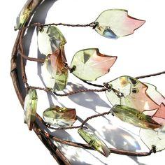 Blatt Krone Leaf Headpiece rustikale Kopf Kranz von curtainroad