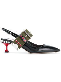 MIU MIU BLACK. #miumiu #shoes #