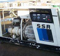 Used Ingersoll-Rand 300 CFM Rotary Screw Compressor  Model SSR-300H