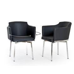 Detroit sú stoličky, ktoré sú otočné o 360 °. Hodia sa nielen ako jedálenské, ale aj ako pracovné stoličky. Poťah je vyrobený z koženky, konštrukcia zas preglejky a nohy sú z kovu.