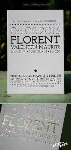letterpers_letterpress_Florence_geboortekaartje_foliedruk_zilver_blauw