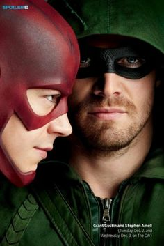 TV Guide Magazine Cover (2) >> The Flash and Arrow Grant Gustin & Stephen Amell
