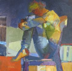 """Girl In Chair"" Melinda Cootsona"