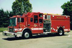◆Townsend, DE FD Rescue 26 ~ 1991 Mack MR Pierce◆