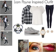 """""""Liam Payne Inspired Outfit"""" by niallerateit ❤ liked on Polyvore"""