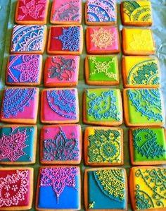 Mehendi cookies