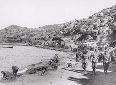 Photograph of ANZAC Beach, Gallipoli Peninsula. Churchill Archives Centre, Cambridge, U. World War One, First World, Gallipoli Campaign, Ww1 History, Anzac Cove, Anzac Day, Lest We Forget, Wwi, Far Away