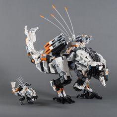 "Mini-Thunderjaw (from ""Horizon Zero Dawn"") by Velocites http://flic.kr/p/UTmz6h"