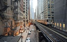 The El on Wabash Avenue