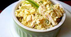 Lahodný a zdravý kuřecí salát v němž je pouze 77 kalorií. Můžete ho jíst bez obav a ještě zhubnete! – Čas na zdravé jídlo.cz
