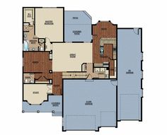Rv garage home floorplan we love it floorplans for Rv storage buildings with living quarters
